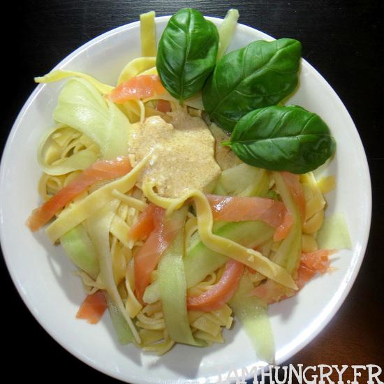 Salade de tagliatelles