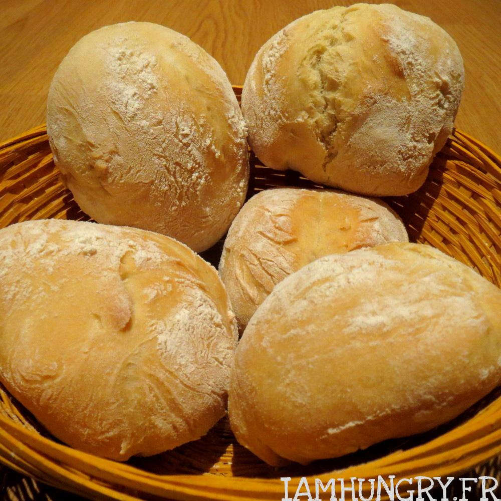 Les petits pains du petit déjeuner
