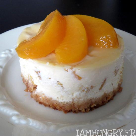 Cheesecake abricot-pêche