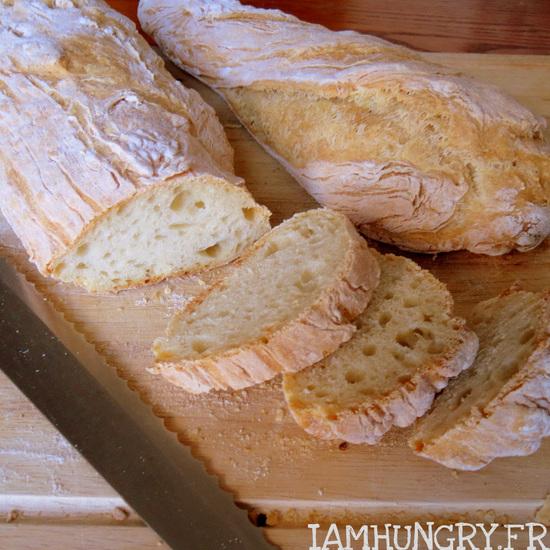 Le pain du flemmard