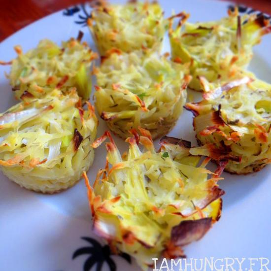 Coupes de poireaux et pommes de terre