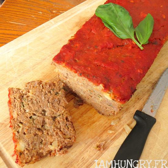 Pain de viande à la tomate