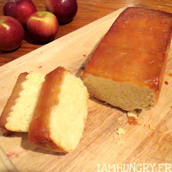 Tarte tatin briochée aux pommes et au miel