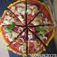 Pizza semoule 1 carre