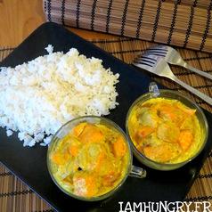 Curry saumon