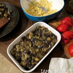 Crumble tomates aubergine5