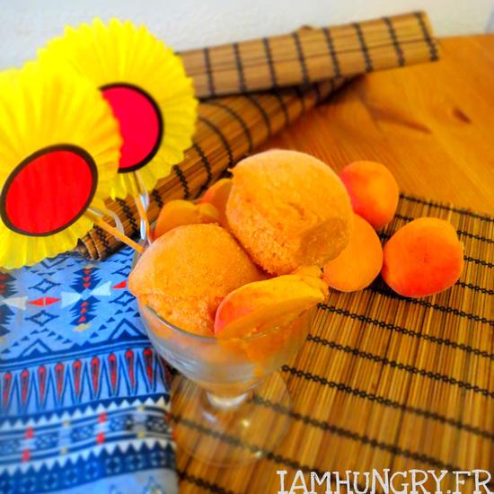 Sorbet abricots miel
