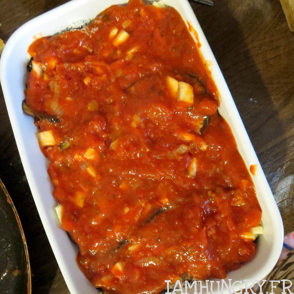 Aubergines la parmesane iamhungry - Aubergine a la poele ...