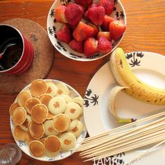 Brochettes fraises bananes pancakes2