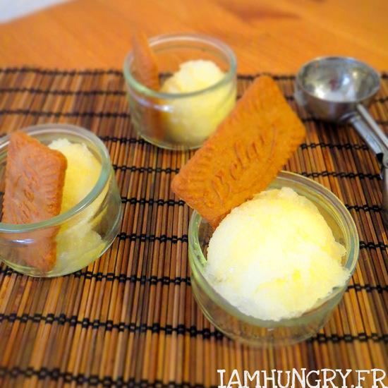 Sorbet citron miel