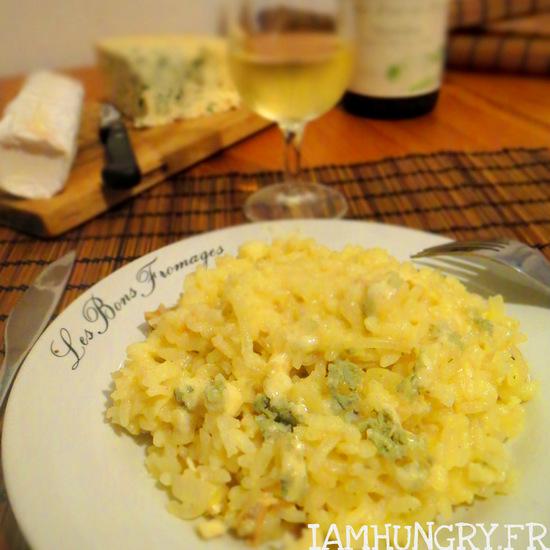 Risotto aux quatre fromages
