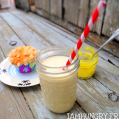 Smoothie lemon curd banane2