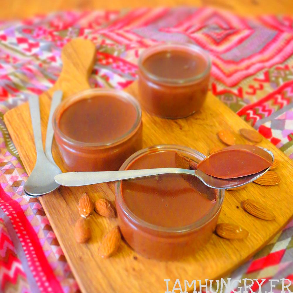 Crème au chocolat et à l'amande
