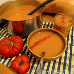 Soupe courge butternut tomate