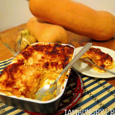 Lasagnes courge butternut