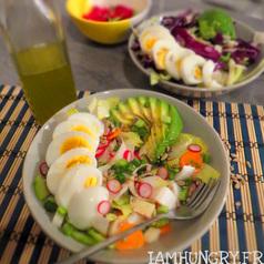 Salade endive crudite%cc%81 hiver