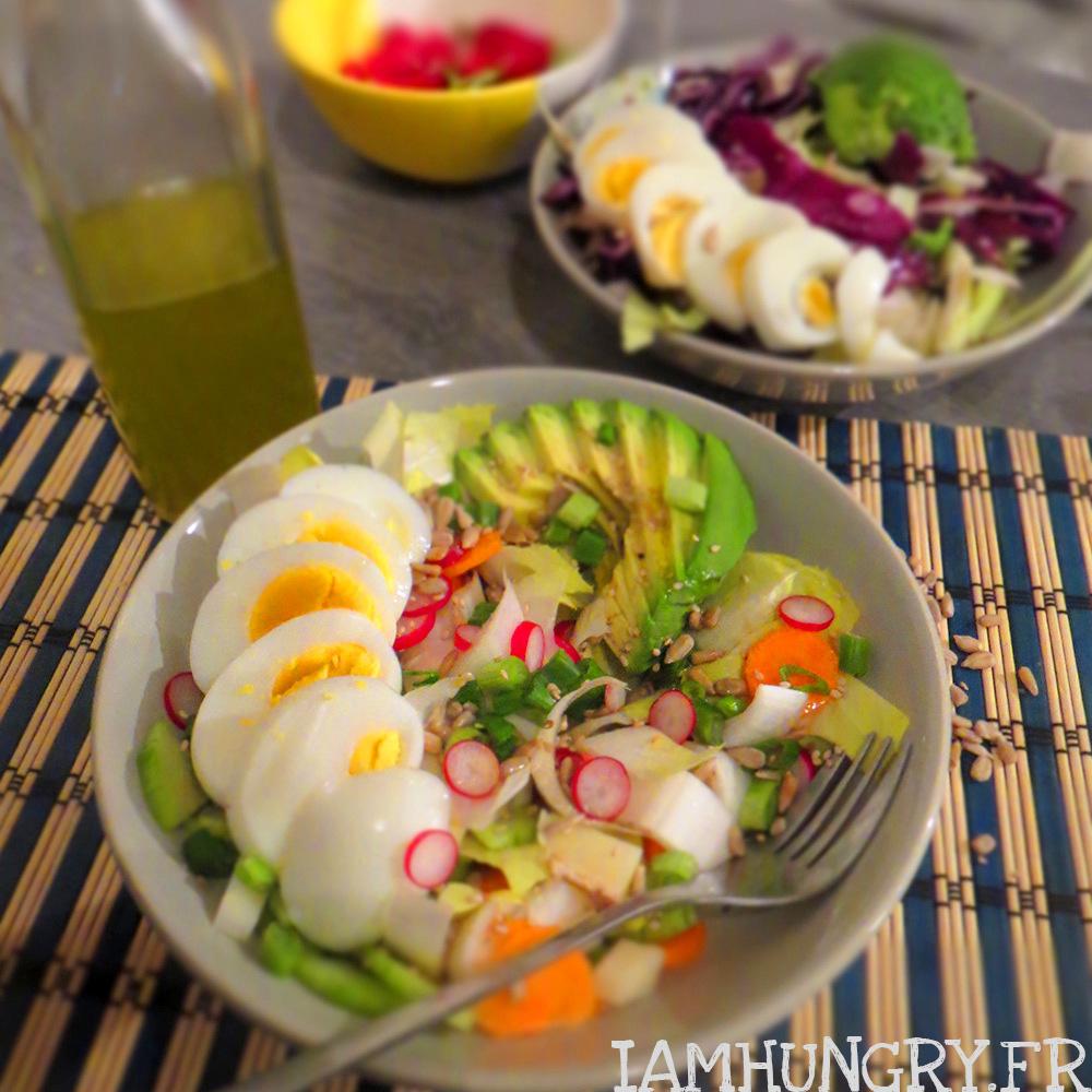 Salade d'endives aux légumes d'hiver