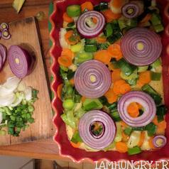 Polentarte aux legumes d hiver 2