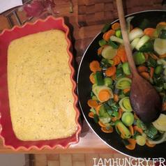 Polentarte aux legumes d hiver 3