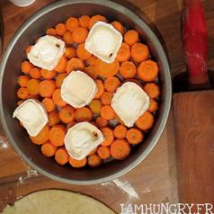 Tarte tatin carotte chevre 3