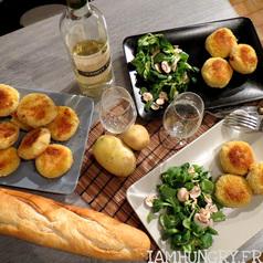 Croquettes de pommes de terre mozzarella 1