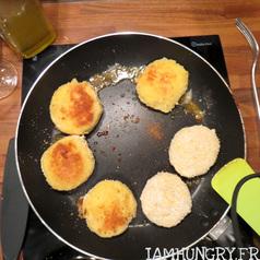 Croquettes de pommes de terre mozzarella 2