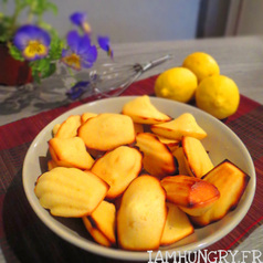 Madeleines citrons 1