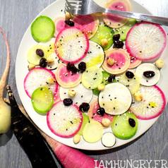 Salade de radis multicolors 1