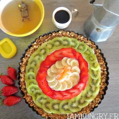 Tarte petit dejeuber aux fruits 1