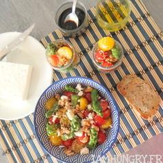 Salade d asperges tomates cerises et feta 1