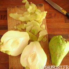 Gratin de chouchou patates au roquefort 4