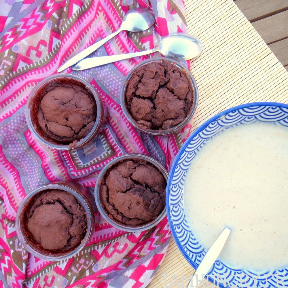 Moelleux au chocolat et tofu soyeux