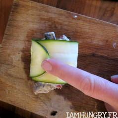 Canellonis de courgettes farcis aux champignons 4