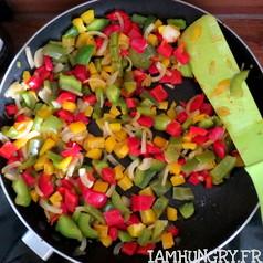 Salade de lentilles aux poivrons 2
