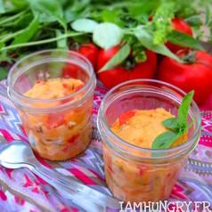Mug cake tomate basilic 1