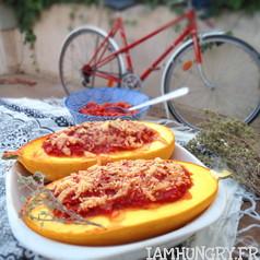 Courge spaghetti bolognaises 1