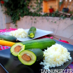 Hot dog de courgettes 1