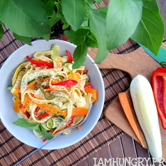 Tagliatelles de legumes 1