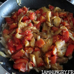 Aubergines farcies a la tomate 5