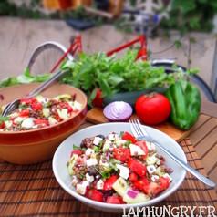 Salade de lentilles a la greque
