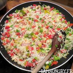 Risotto aux poivrons et parmesan vegetal 2