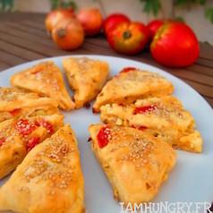 Scones tomates oignons 1