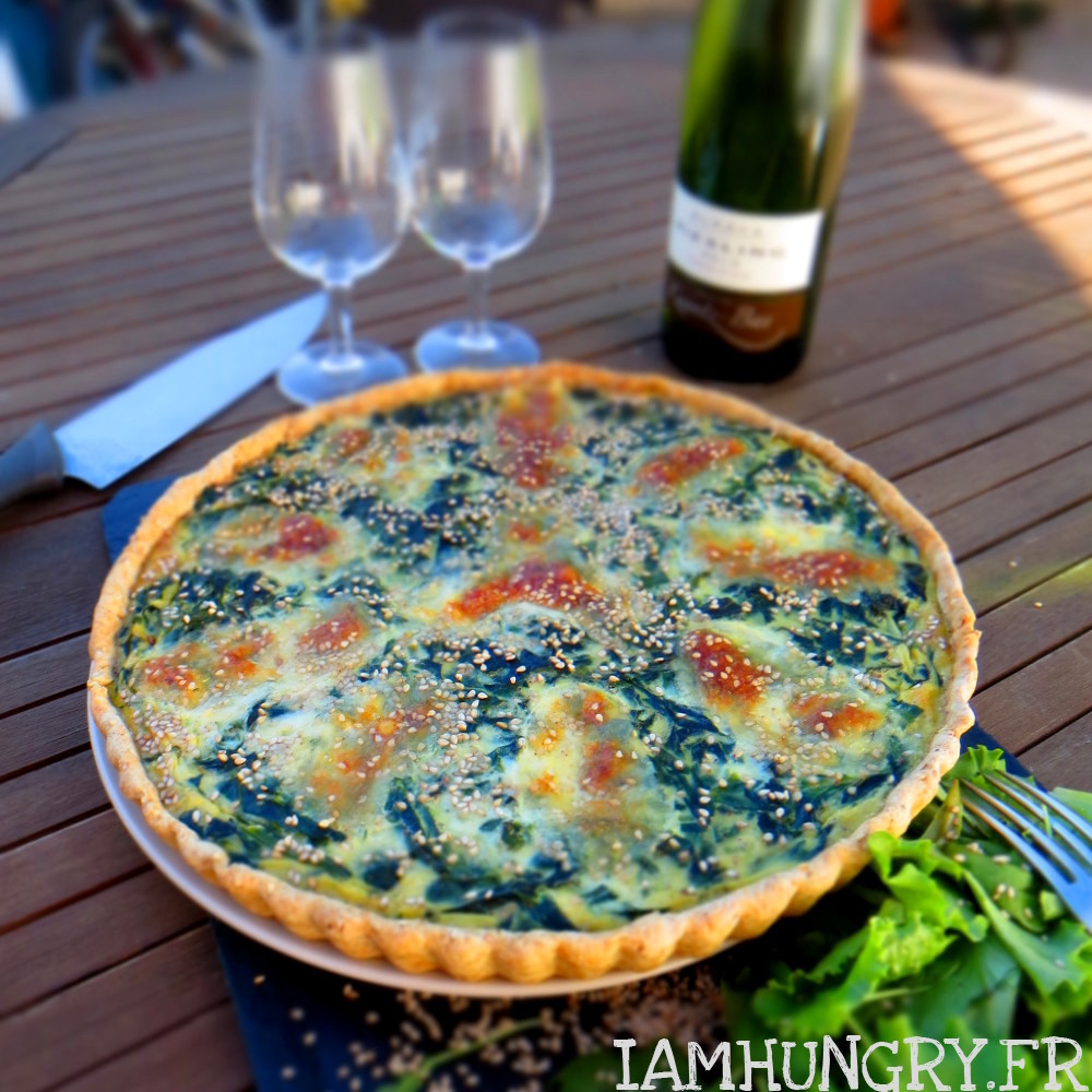 Quiche épinards mozzarella