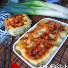 Lasagnes poireaux che%cc%80vre 1