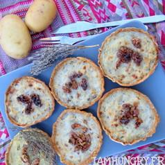 Tartelette topinambour roquefort 1