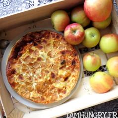 Flaugnarde pommes pruneaux 1