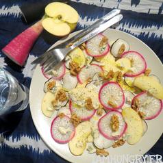Salade pomme radis