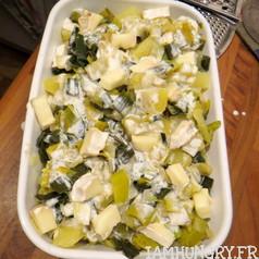 Gratin patates poireaux 2