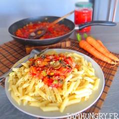 Sauce tomates aux le%cc%81gumes 1