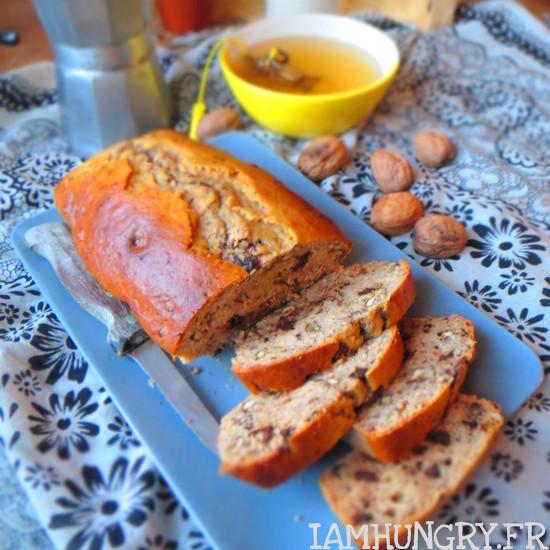 Banana bread du petit déjeuner